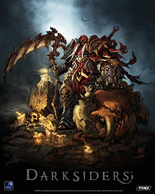 THQ confirmed that Darksiders Darksiders Horsemen War