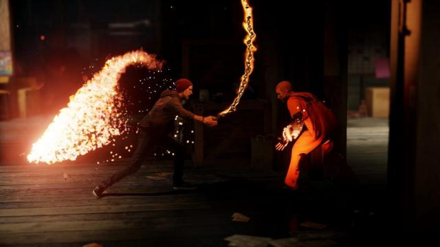 inFAMOUS Second Son: Fire Chains