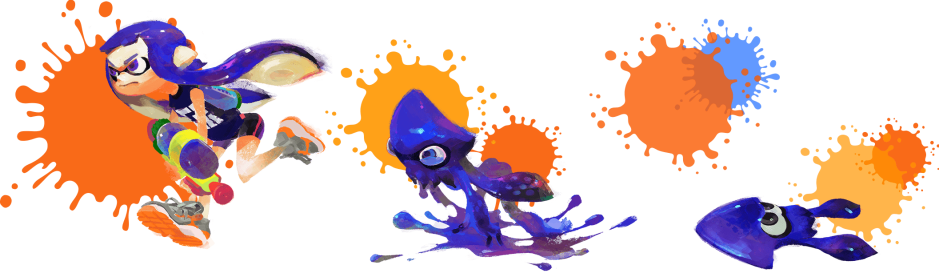 Splatoon Inklings