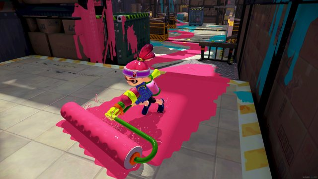 Splatoon Roller