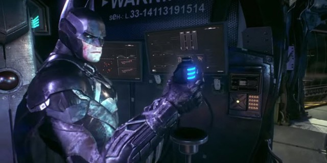Batman Arkham Knight Freeze Blast