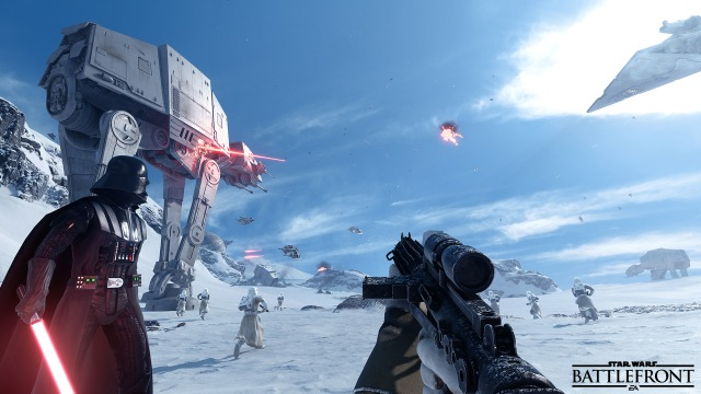 Battlefront Hoth Walker