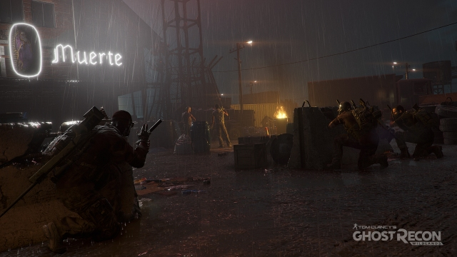 Ghost Recon Night Rain