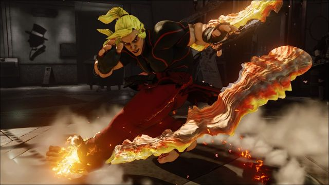 street fighter 5 ken fire