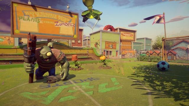 Garden Warfare 2 Soccer