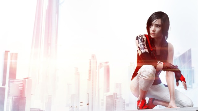 Mirrors Edge Faith art