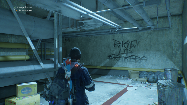 The Division Rikers Garage