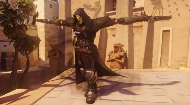Overwatch Reaper pose
