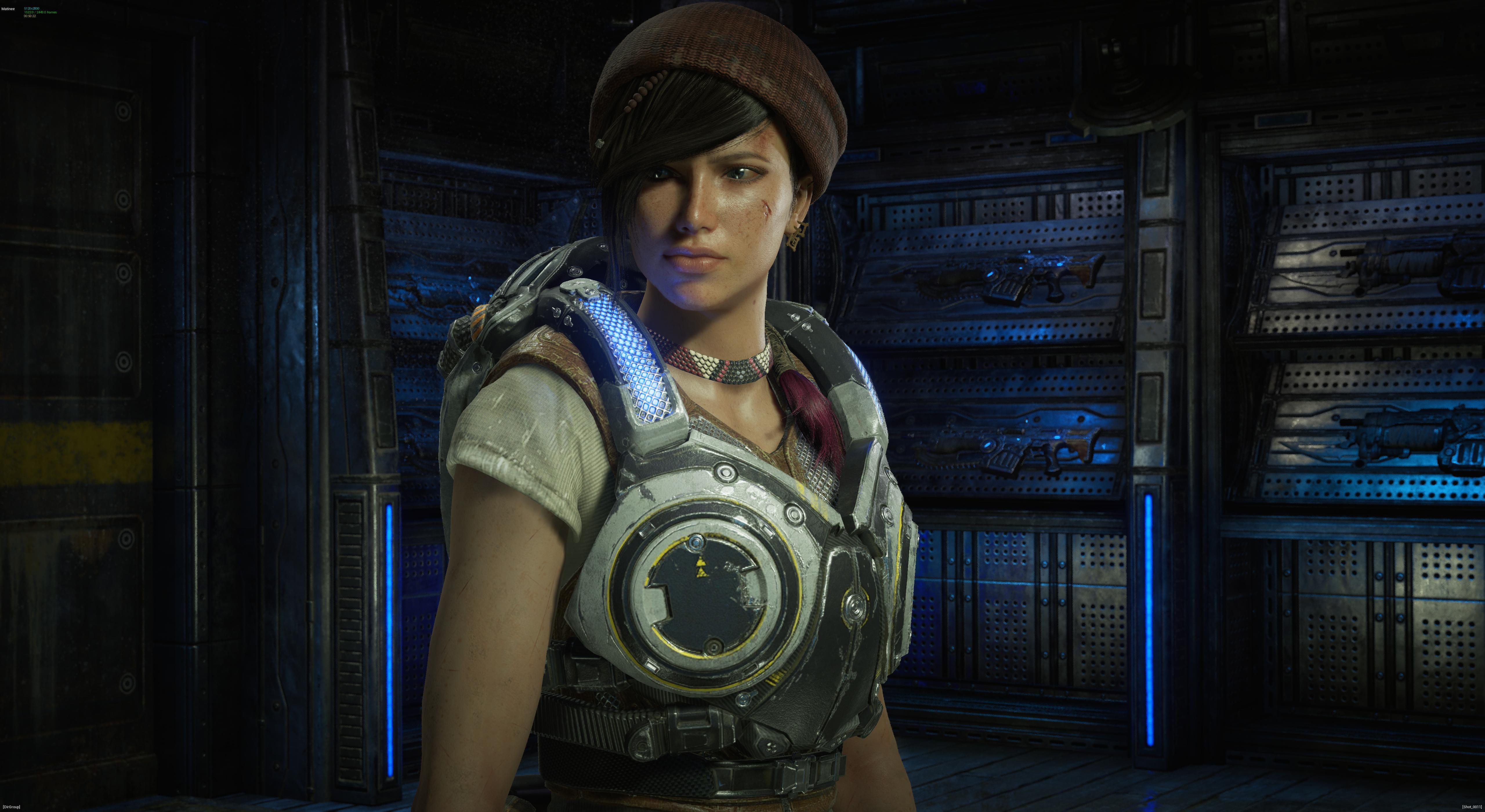 Lets Discuss Gears Of War 4 Big Twist Ending Gamer Crash