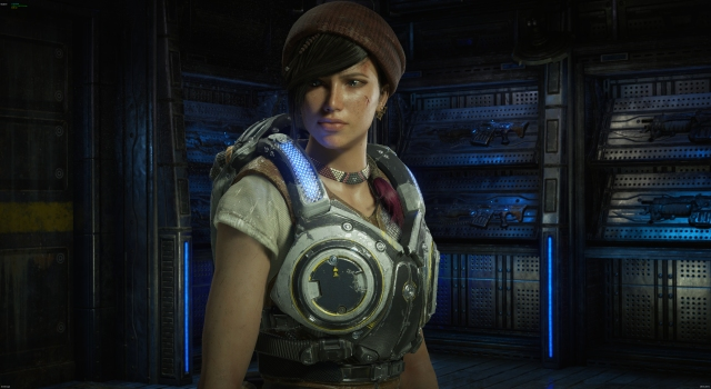 Gears of War 4 Kait Diaz