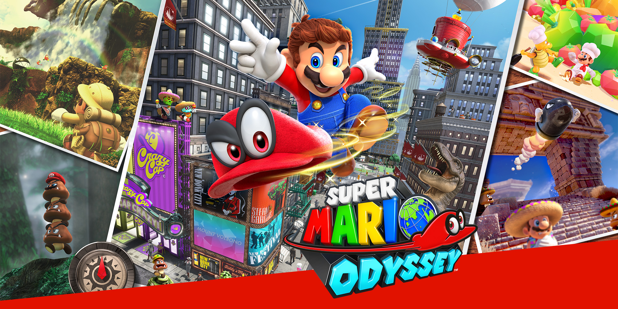 E3 2017 nintendo press conference recap and review for Super mario odyssey paintings