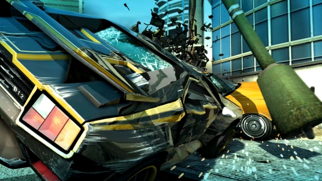 Burnout paradise crash