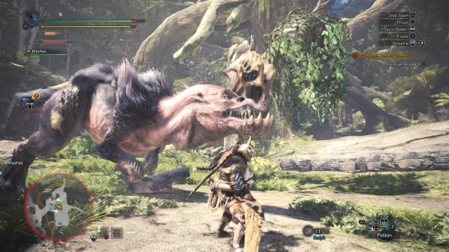 Monster Hunter: World Anjanath