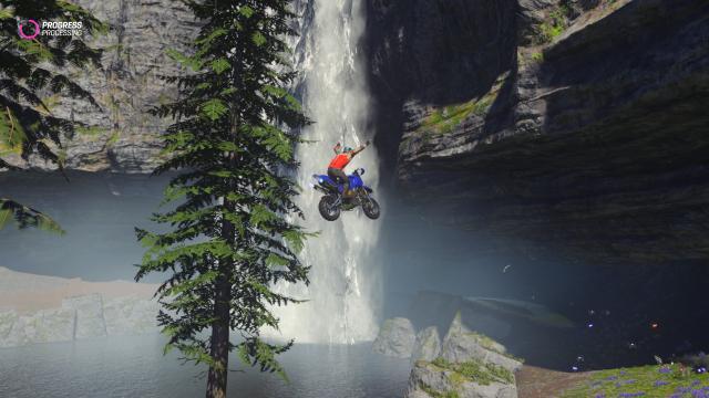 onrush waterfall