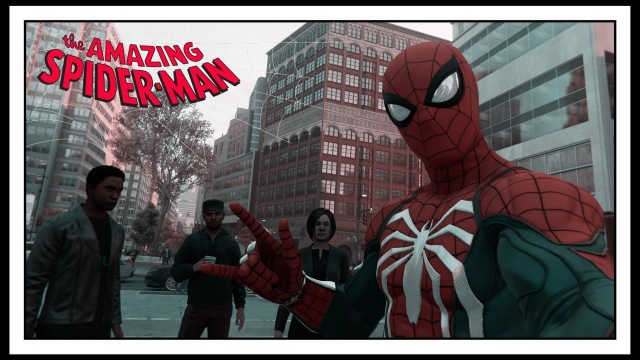 Marvel's Spider-Man Selfie