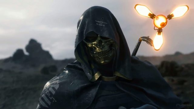 death stranding gold mask