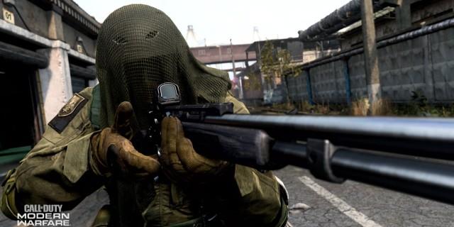 call of duty modern warfare multiplayer shotgun