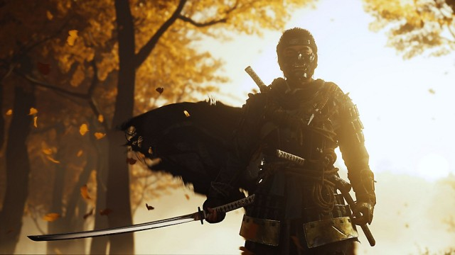 ghost of tsushima autumn