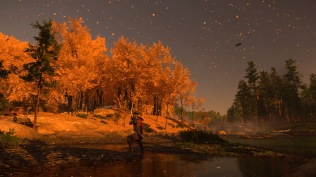 Ghost of Tsushima autumn leaves