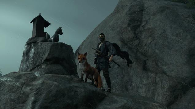 Ghost of Tsushima fox