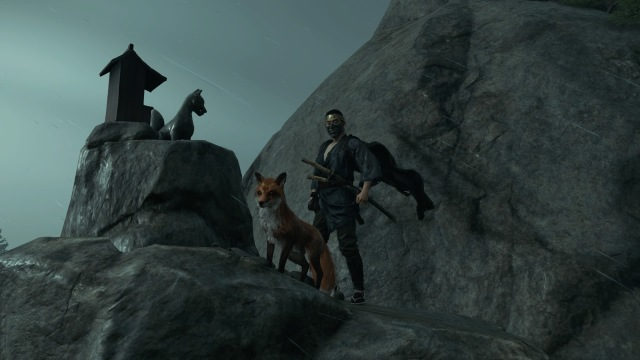 Ghost of Tsushima fox