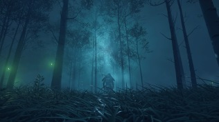 Ghost of Tsushima night forest